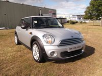 USED 2010 60 MINI HATCH ONE 1.6 ONE 3d 98 BHP 59K, 1 PREVIOUS OWNER