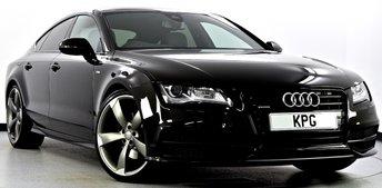 2014 AUDI A7 3.0 TDI Black Edition Sportback S Tronic Quattro 5dr £22995.00