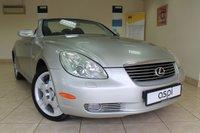 2005 LEXUS SC 4.3 430 2d AUTO 279 BHP £9995.00