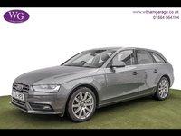 2015 AUDI A4 2.0 AVANT TDI SE TECHNIK 5d AUTO 148 BHP £10295.00