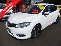 USED 2015 15 NISSAN PULSAR 1.2 ACENTA DIG-T XTRONIC 5d AUTO 115 BHP ****12 months warranty****
