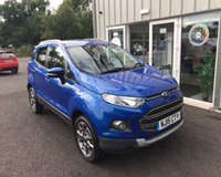 USED 2015 15 FORD ECOSPORT 1.0 TITANIUM X-PACK ECOBOOST 125 BHP THIS VEHICLE IS AT SITE 1  - TO VIEW CALL US ON 01903 892224
