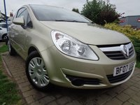 USED 2007 07 VAUXHALL CORSA 1.2 CLUB A/C 16V 3d 80 BHP **1 Owner Low Mileage With A/C 12 Months Mot**