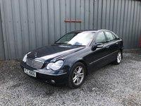 2002 MERCEDES-BENZ C CLASS 2.1 C220 CDI ELEGANCE 4d 143 BHP £900.00