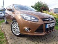 2013 FORD FOCUS 1.6 ZETEC 5d AUTO 124 BHP £5989.00