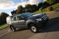 2013 FORD RANGER 2.2 TDCI 150 XL 4WD DOUBLE CAB PICK UP + AIR CON + HARD TOP £10990.00