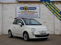 USED 2010 60 FIAT 500 1.2 C LOUNGE 3d 69 BHP One Owner FIAT Service History 0% Deposit Finance Available
