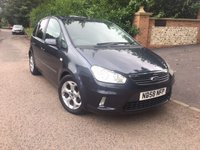 USED 2008 58 FORD C-MAX 1.6TD  ZETEC 5d 108 BHP PLEASE CALL TO VIEW