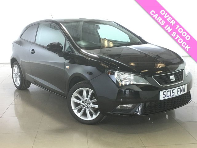 View our 2015 15 SEAT IBIZA 1.4 TOCA NAV 3d 85 BHP