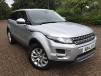2014 LAND ROVER RANGE ROVER EVOQUE 2.2 SD4 PURE TECH 5d AUTO 190 BHP £19750.00