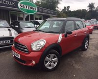 2015 MINI COUNTRYMAN 1.6 COOPER 5d 122 BHP £11489.00