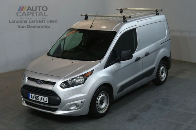 2016 65 FORD TRANSIT CONNECT 1.5 200 ECONETIC 100 BHP AIR CON L1 H1 SWB START STOP FITTED ROOF RACK