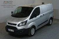 USED 2015 65 FORD TRANSIT CUSTOM 2.2 290 ECONETIC 100 BHP L1 SWB START STOP AIR CON VAN AIR CONDITIONING / SPARE KEY