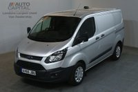 USED 2015 65 FORD TRANSIT CUSTOM 2.2 290 ECONETIC 100 BHP L1 SWB START STOP AIR CON VAN AIR CONDITIONING ONE OWNER