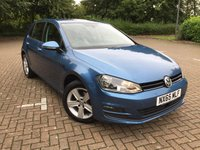 2015 VOLKSWAGEN GOLF 1.6 MATCH TDI BLUEMOTION TECHNOLOGY 5d 109 BHP £9500.00
