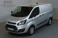 USED 2015 65 FORD TRANSIT CUSTOM 2.2 290 ECONETIC L1 100 BHP SWB START STOP AIR CON VAN AIR CONDITIONING / START STOP