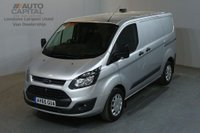 USED 2015 65 FORD TRANSIT CUSTOM 2.2 290 ECONETIC 100 BHP L1 SWB START STOP AIR CON VAN AIR CONDITIONING / FULL S/H