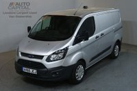 USED 2015 65 FORD TRANSIT CUSTOM 2.2 290 ECONETIC 100 BHP L1 SWB START STOP AIR CON VAN AIR CONDITIONING