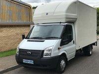 2013 FORD TRANSIT LUTON 2.2 RWD EF LWB 350 125 BHP 6 SPEED £9495.00