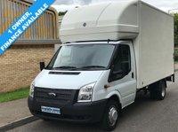 2013 FORD TRANSIT LUTON 2.2 RWD EF LWB 350 125 BHP 6 SPEED £8995.00