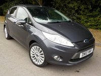 USED 2010 10 FORD FIESTA 1.6 TITANIUM TDCI 5d 94 BHP *£30 Road Tax*