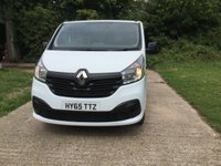 USED 2015 65 RENAULT TRAFIC 1.6 LL29 BUSINESS PLUS DCI S/R P/V 1d 115 BHP HIGH SPEC. 1 OWNER, LONG WHEEL BASE,