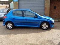2005 PEUGEOT 206 1.4 S 5d 74 BHP £1255.00