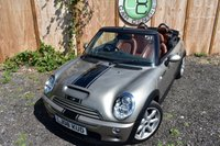 USED 2008 08 MINI CONVERTIBLE 1.6 COOPER S SIDEWALK 2d 168 BHP Finance Available