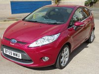 USED 2009 59 FORD FIESTA 1.4 TITANIUM 5d AUTO 96 BHP 1 PREVIOUS KEEPER +  GREAT EXAMPLE OF AUTOMATIC +  MOT AUGUST 2019 ( NO ADVISORY) +  PRIVACY GLASS +  AUX CONNECTION +  ALLOY WHEELS +
