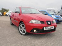 USED 2007 56 SEAT IBIZA 1.4 DAB 16V 3d 99 BHP 12 MONTHS MOT, 2 KEYS, EXCELLENT CONTION.