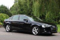 2012 AUDI A4 2.0 TDI SE TECHNIK 4d 134 BHP £10490.00