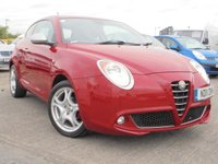 USED 2011 11 ALFA ROMEO MITO 1.4 VELOCE 16V 3d 95 BHP 12 MONTHS MOT,FULL SERVICE HISTORY, 2 KEYS, EXCELENT CONDITION.