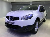 USED 2013 63 NISSAN QASHQAI+2 1.6 ACENTA PLUS 2 5d 117 BHP GLASS PANORAMIC ROOF + PRIVACY GLASS + REVERSE PARKING SENSORS