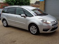2008 CITROEN C4 GRAND PICASSO 1.6 EXCLUSIVE HDI EGS 5d AUTO 110 BHP £2850.00