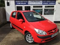 USED 2008 58 HYUNDAI GETZ 1.4 CDX 5d 96 BHP 60K ALLOYS AIR/CON ELEC SUNROOF  LOCAL FAMILY OWNER EXC CONDITION