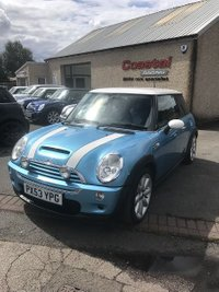 2003 MINI HATCH COOPER 1.6 COOPER S 3d 161 BHP £2995.00