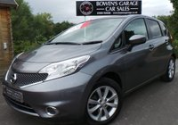 USED 2014 14 NISSAN NOTE 1.2 ACENTA PREMIUM DIG-S 5d AUTO 98 BHP AUTO - 2 Owners - Very Low Miles - 4 Services - £30 Tax