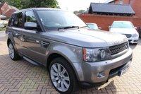 2010 LAND ROVER RANGE ROVER SPORT 3.0 TDV6 SE 5d AUTO 245 BHP £15995.00