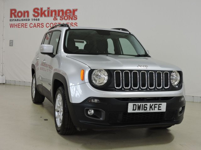 View our 2016 16 JEEP RENEGADE 1.6 M-JET LONGITUDE 5d 118 BHP