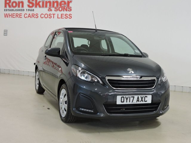 View our 2017 17 PEUGEOT 108 (45)   1.0 ACTIVE TOP 3d 68 BHP