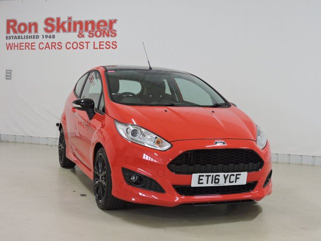 View our 2016 16 FORD FIESTA  1.0 ZETEC S RED EDITION 3d 139 BHP