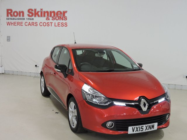 View our 2015 15 RENAULT CLIO 1.5 DYNAMIQUE MEDIANAV ENERGY DCI S/S 5d 90 BHP