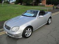 2000 MERCEDES-BENZ SLK 2.3 SLK230 KOMPRESSOR 2d AUTO 197 BHP £2999.00