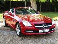2011 MERCEDES-BENZ SLK 1.8 SLK200 BLUEEFFICIENCY EDITION 125 2d AUTO 184 BHP £11300.00
