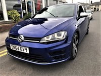 2014 VOLKSWAGEN GOLF 2.0 R DSG 3d AUTO 298 BHP £19995.00