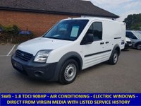 2011 FORD TRANSIT CONNECT 200 90BHP WITH AIR CON & ELECTRIC PACK FROM VIRGIN MEDIA £4695.00