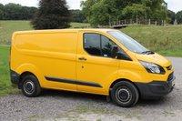 2014 FORD TRANSIT CUSTOM 2.2 330 LR P/V 1d 124 BHP £9000.00