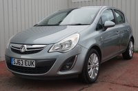 USED 2013 63 VAUXHALL CORSA 1.2 SE 5d 83 BHP DEALER SERVICE HISTORY
