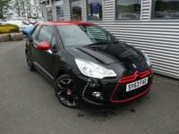 2013 CITROEN DS3 1.6 E-HDI AIRDREAM DSPORT RED 3d 115 BHP £6980.00