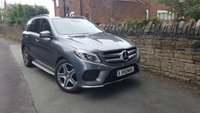 USED 2016 66 MERCEDES-BENZ GLE-CLASS 3.0 GLE 350 D 4MATIC AMG LINE PREMIUM 5d AUTO